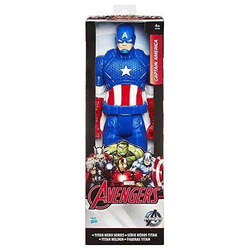 Avengers Figure Titan Captain America, 30 cm (Hasbro B1669)