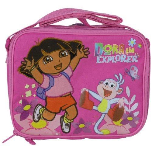 Dora L' Esploratrice-Borsa per il pranzo-Rosa Salta con stivali da nuovo caso 815391 - Dora Lunch Bag