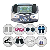 NWYJR Tens Machine Pain Relief Massager Fast Effective For All Types Of Chronic Pain Rehabilitation 6 Way Ourtput Channels 2 Way Of Heating Therapy Function