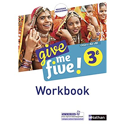 Give me five! 3e - Workbook
