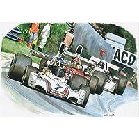 Italian Grand Prix 1975 Greeting Card
