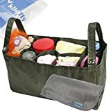 KF Baby Diaper Bag Insert Stroller Organizer, Army + Changing Pad Value Combo