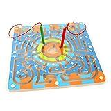 Holz-magnetischen-Labyrinth-Netspower-Puzzle-Spiel-Spielzeug-Set-fr-Jungen-Mdchen-Sicherheit-Bunte-Holzspielzeug-fr-Baby-Kleinkind-Spielzeug-Ringfrmige-Magnetbrste-Maze-Maze-Spur