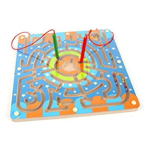 shibuya-ren-yingying-1pc-holzernen-runden-magnetspur-stift-beweglichen-labyrinth-phantasie-spielzeug