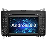 Ohok 7 Zoll Bildschirm 2 Din Autoradio Android 8.0.0 Oreo Octa Core 4G+32G Radio mit Navi Moniceiver DVD GPS Navigation Unterstützt Bluetooth DAB+ für Mercedes-Benz A-class/B-class/Viano/Vito/Sprinter