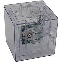 Hucha con laberinto 3D