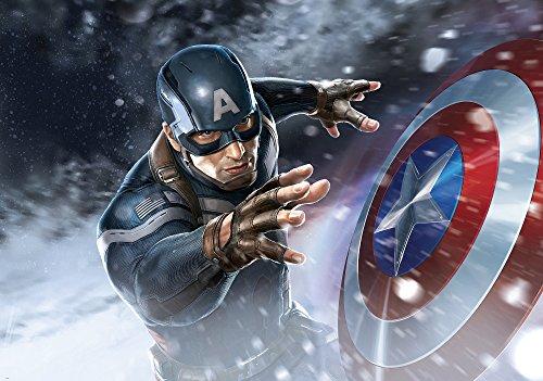 apete Marvel Captain America, 1 Stück, 965P4 (Captain America-dekor)