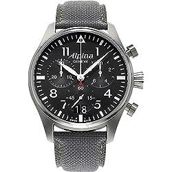 Alpina Geneve Startimer Pilot AL-372B4S6 Cronógrafo para hombres Reloj Aeronóautico