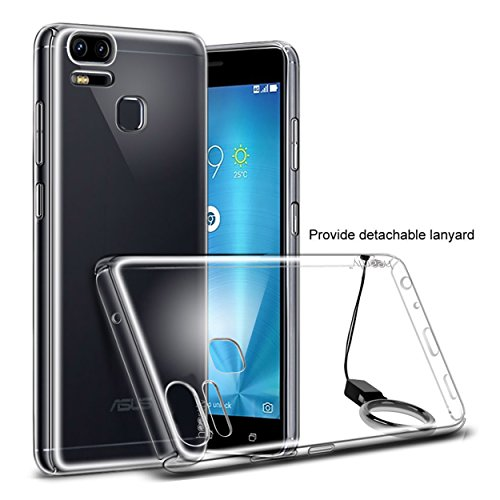 Heartly Asus ZenFone 3 Zoom (ZE553KL) Back Cover Transparent Clear...