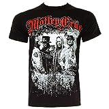 Motley Crue Bandshots T Shirt (Schwarz) - Small
