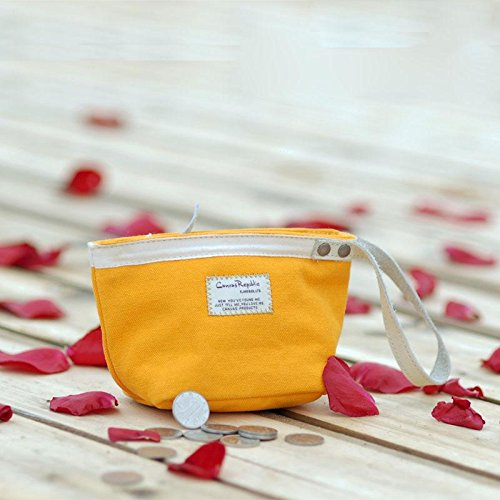 &ZHOU femminile borsa di tela borsa grande capacità borsa Messenger svago Messenger moda , yellow Yellow