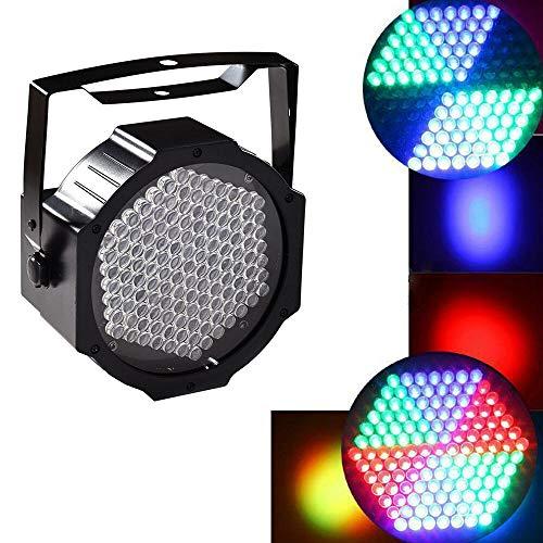 Scheinwerfer Mit 27 Led YUNRUX RGB Strahler 30W Discolicht DJ Strobe Light Led Lampe PAR Bühnenbeleuchtung Lichteffekt DMX512 für DJ Disco Stage Party Dual-band-bar