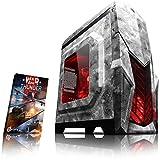 VIBOX Reptile L524-5 PC Gamer Ordinateur avec War Thunder Jeu Bundle (3,9GHz AMD Ryzen Quad-Core Processeur , Graphiques Radeon Vega Intégrés, 16GB DDR4 RAM, 1TB HDD, Sans Système d'Exploitation)