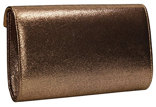 SwankySwans , Damen Clutch One Size rose gold
