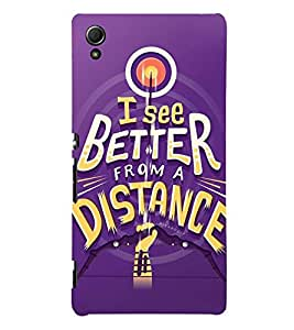 PERFECTIONIST QUOTE 3D Hard Polycarbonate Designer Back Case Cover for Sony Xperia Z4 :: Sony Xperia Z4 E6553