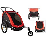 Burley Fahrradanhänger Honey Bee - Children Trailercycle, red, 89.0 x 76.7 x 92.1 cm, 949203