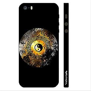 Enthopia Designer Hardshell Case Ying Yang Signs Back Cover for Apple Iphone 5,5s,SE