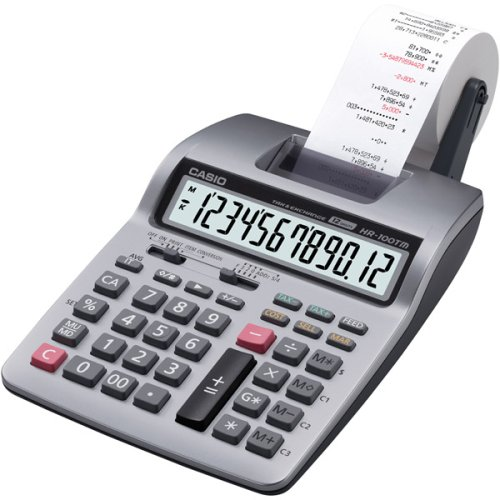 Casio HR-100TMPlus - Calculadora (Escritorio,...