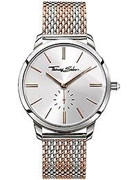 Thomas Sabo Reloj para mujer Glam Spirit Oro rosado y plata WA0273-283-201