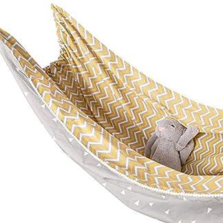 Sroomcla – Hamaca para bebé, Cuerda Colgante, Columpio, Columpio para cunas o Cama, Cuerda de algodón, Silla para Interior y Exterior, Ducha del bebé