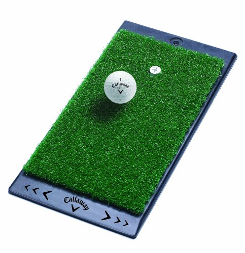 Callaway FT Launch Zone Golf Hitting Mat - Black