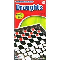 Halsall Magnetic Traditional Travel Draughts Game