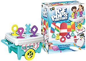 Amav-Maletín de Icy Delights Ice Pops Factory Juguete DIY-Personaliza tu Propio Paleta-Hacer y Comer Ice Pops