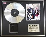 AC/DC/Platin Schallplatte/RECORD & Foto-Darstellung/Limitierte Edition/COA/BACK IN BLACK