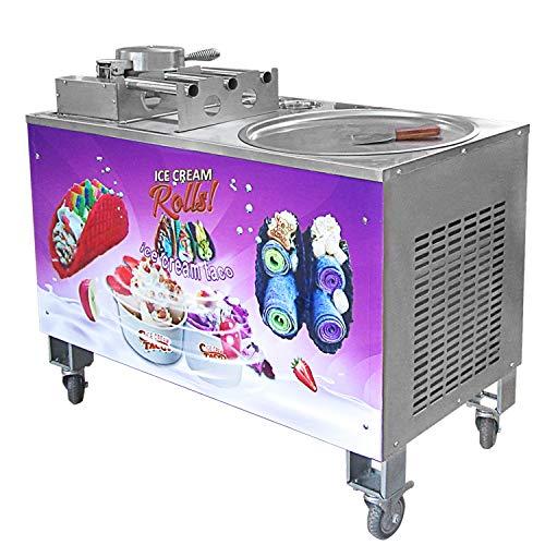 Kolice Máquina de helados comerciales con Taco Maker/máquina de helados fritos/máquina de helados...