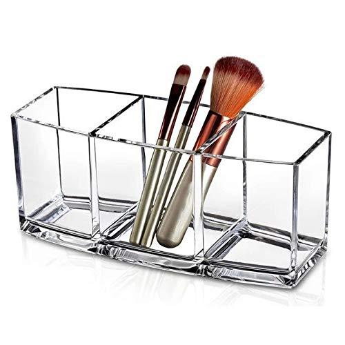TOOGOO Support Cosmétique Organisateur de Maquillage Acrylique Outils de Maquillage Bo?te de Rangement Brosse et Accessoire Organisateur Bo?te Transparente