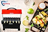 Wellberg Electric and Charcoal Barbeque Grill Amazing Portable BBQ Grill Both- for Outdoor