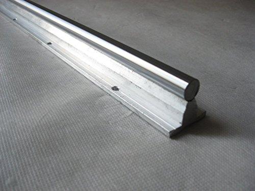 TEN-HIGH SBR12 12mm, 1500mm Fully Supported Linear Rail+2pcs SBR12UU BlockBearing Block Bearing