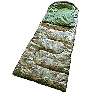 51TA%2BzoJOnL. SS300  - Military Suppliers Army Combat Childrens Kids Boys Young Soldier Camo Mummy Travel Sleeping Bag Camping Festival