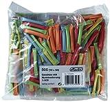 Herlitz 10733376 Gewinnlose 1-500 10x50 Stück (Farben sortiert)