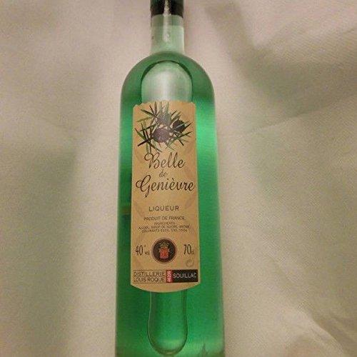 liqueur belle de genievre bouteille elegance 70cl presente en etui louis roque neuf