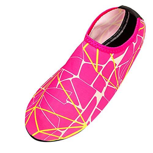 Clearance Sale [EU36-EU49] ODRD Schuhe Herren Männer Gestreifte Strandschuhe der Männer, die tauchende Socken treiben, die Fluss watende Schuhe treiben Combat Laufschuhe Wanderschuhe Sneakers Sport