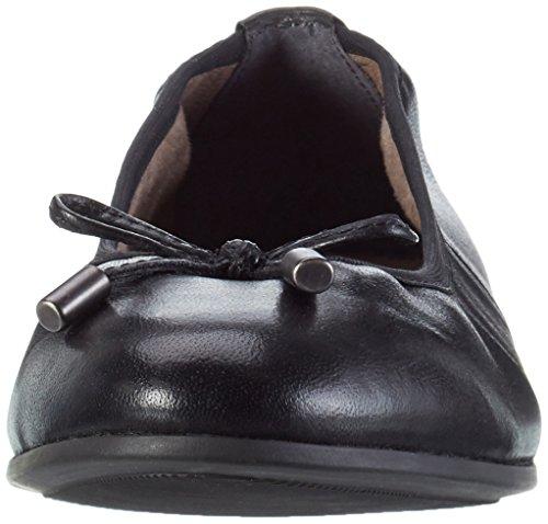 s.Oliver Damen 22112 Geschlossene Ballerinas Schwarz (Black 001)