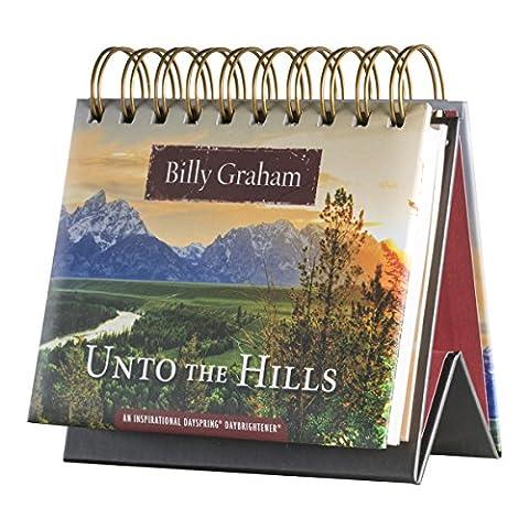 DaySpring Billy Graham's Unto the Hills, DayBrightener Perpetual Flip Calendar, 366 Days of