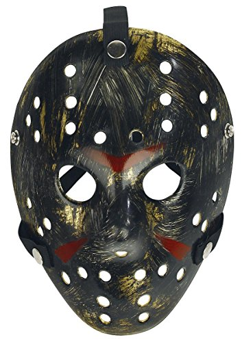 Freitag der 13. Maske Standard (Freitag Girl Kostüm)