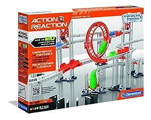Ciencia y Juego - Action & Reaction Crazy Dominó (Clementoni 55321)