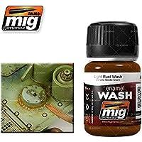 AMMO Munition mig-1004Emaille (35ml) Light Rust Waschen, Mehrfarbig
