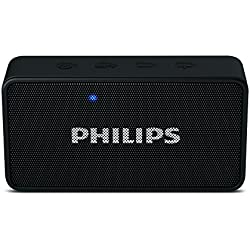Philips BT64B Portable Bluetooth Speakers (Black)