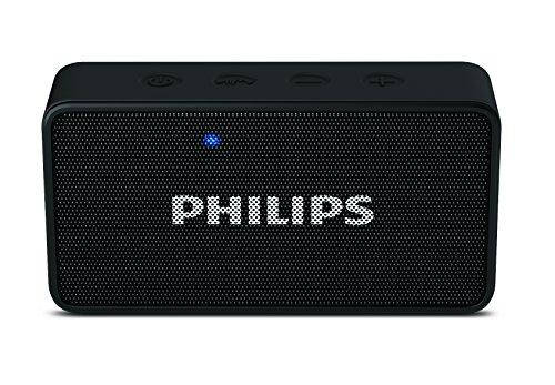 Philips BT64B Portable Bluetooth Speakers (Black)