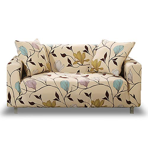 Hotniu copridivano elastico, 1-pezzo fodere copridivani elasticizzato, fodera per divano antiscivolo sofa protettore, taglia 3 posti - 175 a 220 cm, modello #mlk
