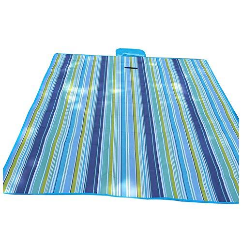 LIAN Store Wasserdichte Teppichdecke Outdoor Strand Camping Picknickmatte