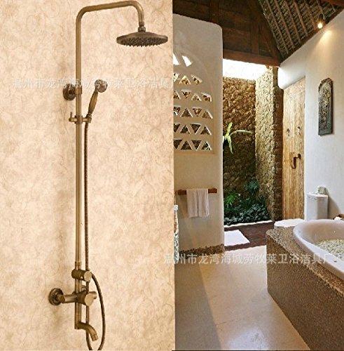 antico-doccia-doccia-il-rubinetto-la-pioggia-il-controllo-della-temperatura-a-muro