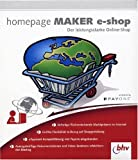 Homepage Maker E-Shop