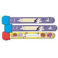 Sigel SY451 19.7 cm Unicorns Child Safety Wristband (Pack of 3)