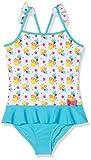 Sterntaler Kinder Mädchen Badeanzug, UV-Schutz 50+, Alter: 3-4 Jahre, Größe: 98/104, Türkis/Weiß