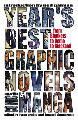 Year's Best Graphic Novels, Comics, & Manga